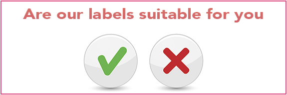Suitability of Rapid Labels