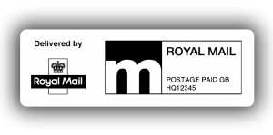 Royal Mail Economy PPI Labels, 60 x 21mm - Roll of 500