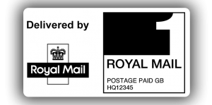 Royal Mail 1st Class PPI Labels, 65 x 35mm - Roll of 500