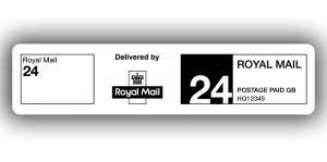 Royal Mail 24, PPI Labels, 85 x 20mm - Roll of 500