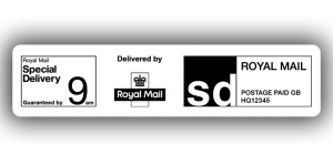 Royal Mail Special Delivery 9am, PPI Labels, 85 x 20mm - Roll of 500